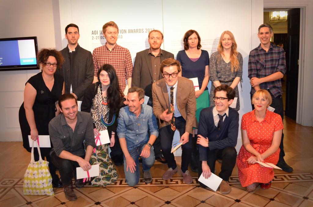 The AOI Illustration Awards Winners 2013
