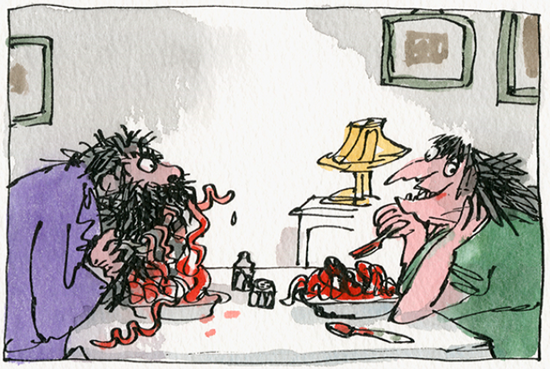 The Twits illustrated by Quentin Blake