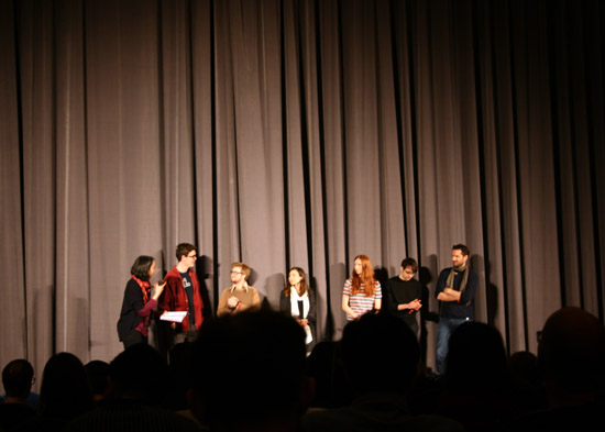Q&A with animators after the first screening