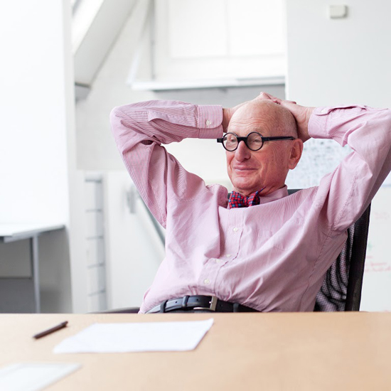 Portrait of Wally Olins