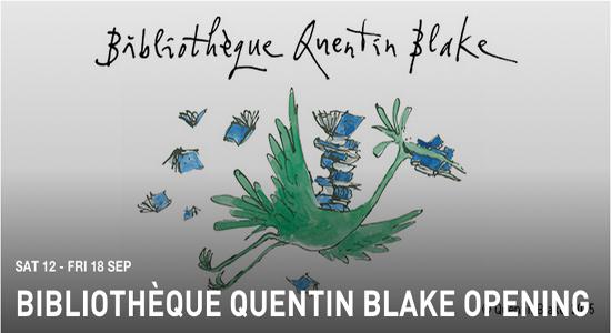 Institut français du Royaume-Uni, Bibliothèque Quentin Blake Grand Opening