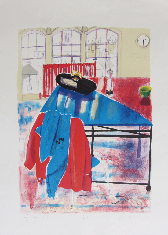 Chloe Cheese,_My House, lithograph