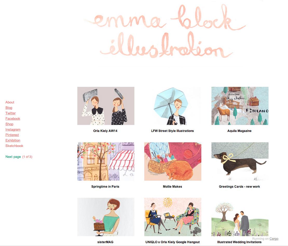Image 4 Block online portfolio (Web presence)