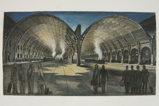 King's cross railway Shed