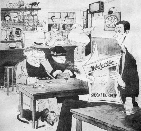 Arthur Robins, Tube Poster Melody Maker