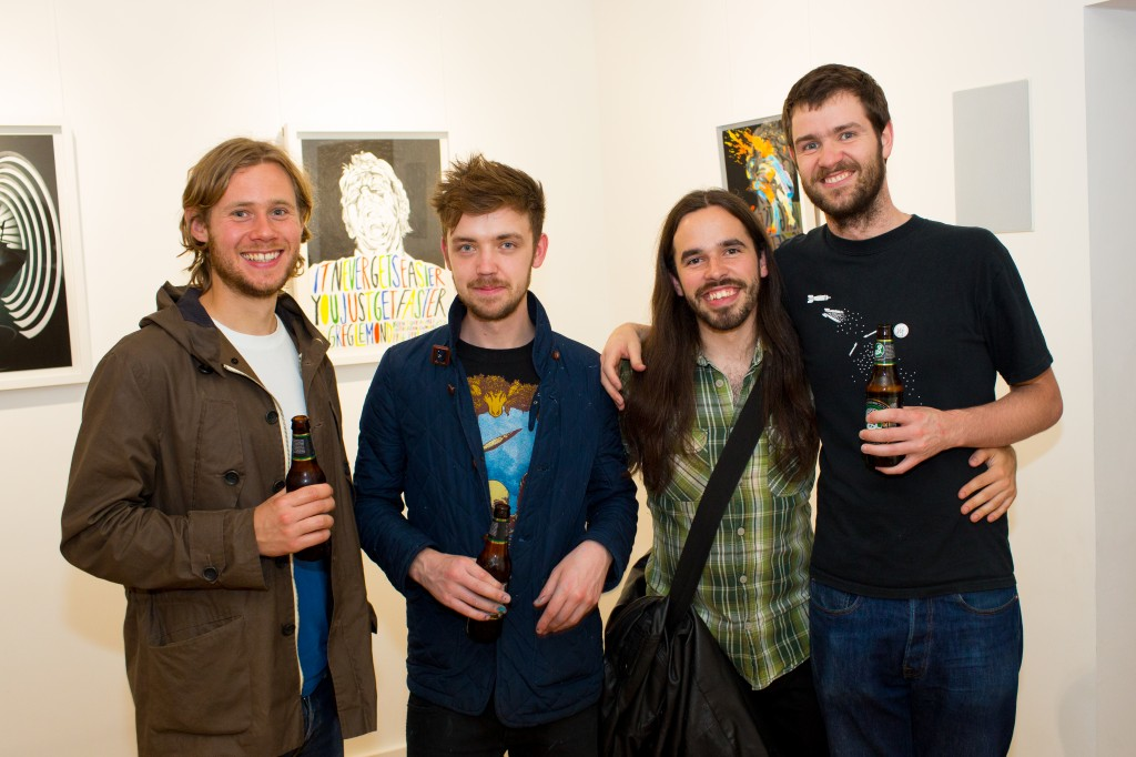 Our 'family' of illustrators – David Sparshott, Matt Saunders, Stuart Whitton and Stephen Cheetham
