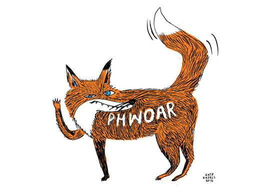FOXY FOX Kate Hazell_Phwoar2