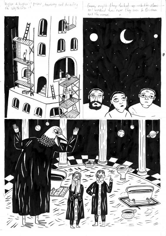 Illustration by Isabel Greenberg