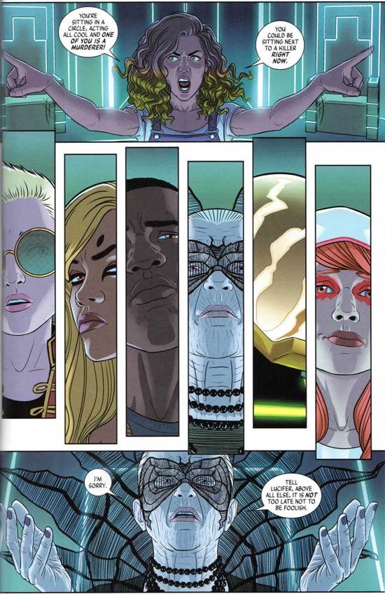 The Wicked + The Divine © Kieron Gillen and Jamie McKelvie, 2014-present