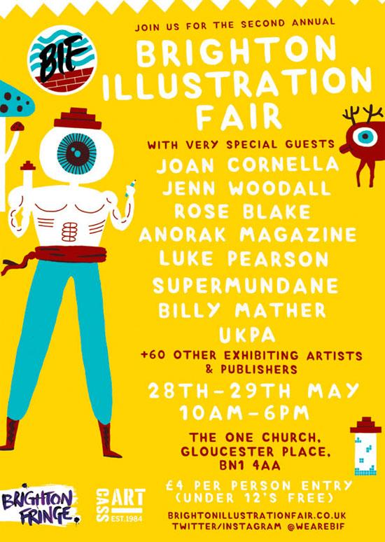 Brighton Illustration Fair
