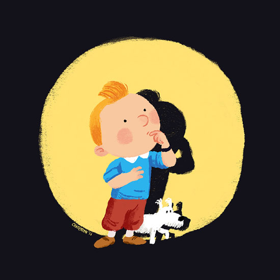 Tintin by Chris Chatterton