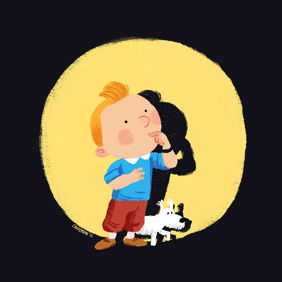 Tintin by Chris Chatterton
