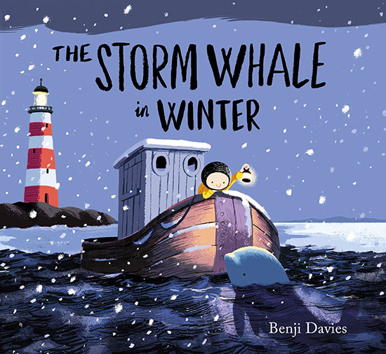 Book Illustration Benji Davis The Storm Whale in Winter (c) Benji Davis