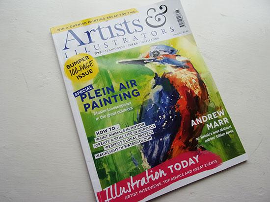 Artist_Illustrators_June17_cover