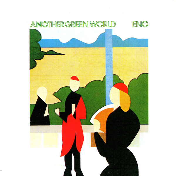 Sleeve design by Brian Eno and Tom Phillips