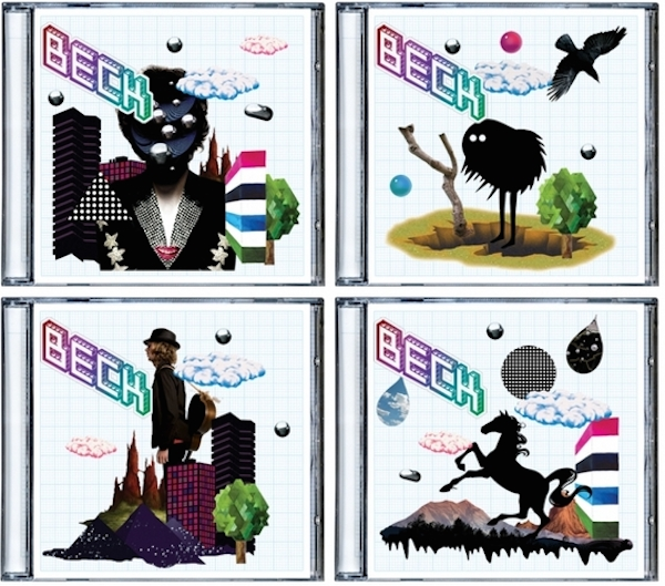 Sleeve design by Beck and Big Active / illustrations by various artists