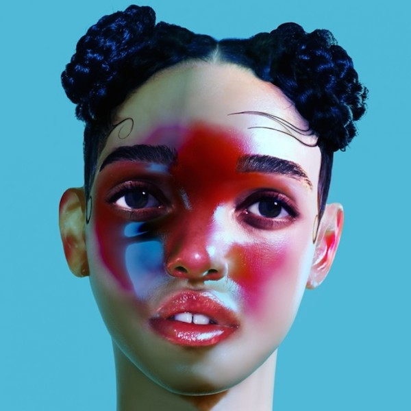 FKA Twigs, LP1 Sleeve design by Jesse Kanda