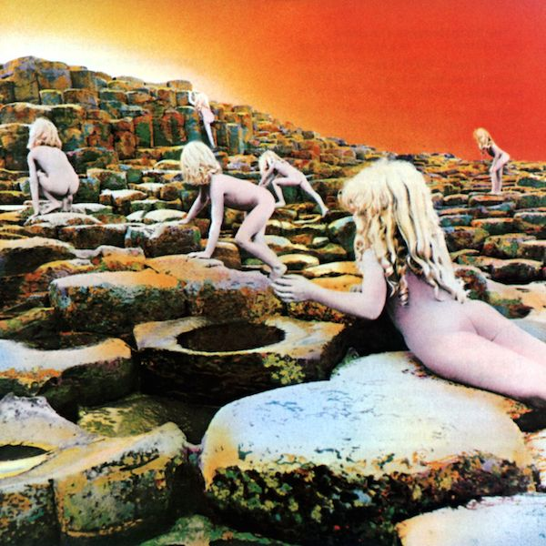 Led Zeppelin, Houses of the Holy Sleeve design by Hipgnosis