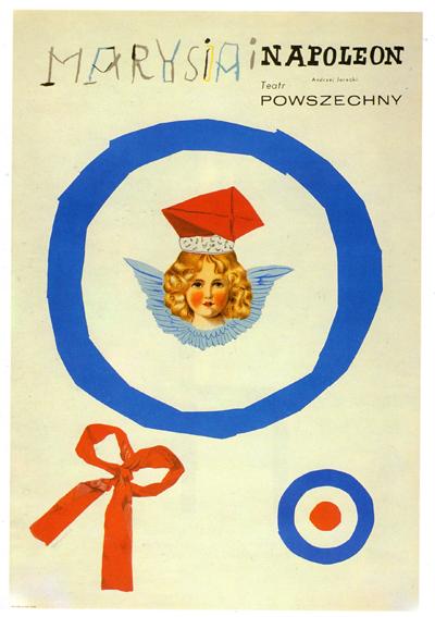 Theatrical Poster forMarysia i Napoleon, Henryk Tomaszewski, 1964