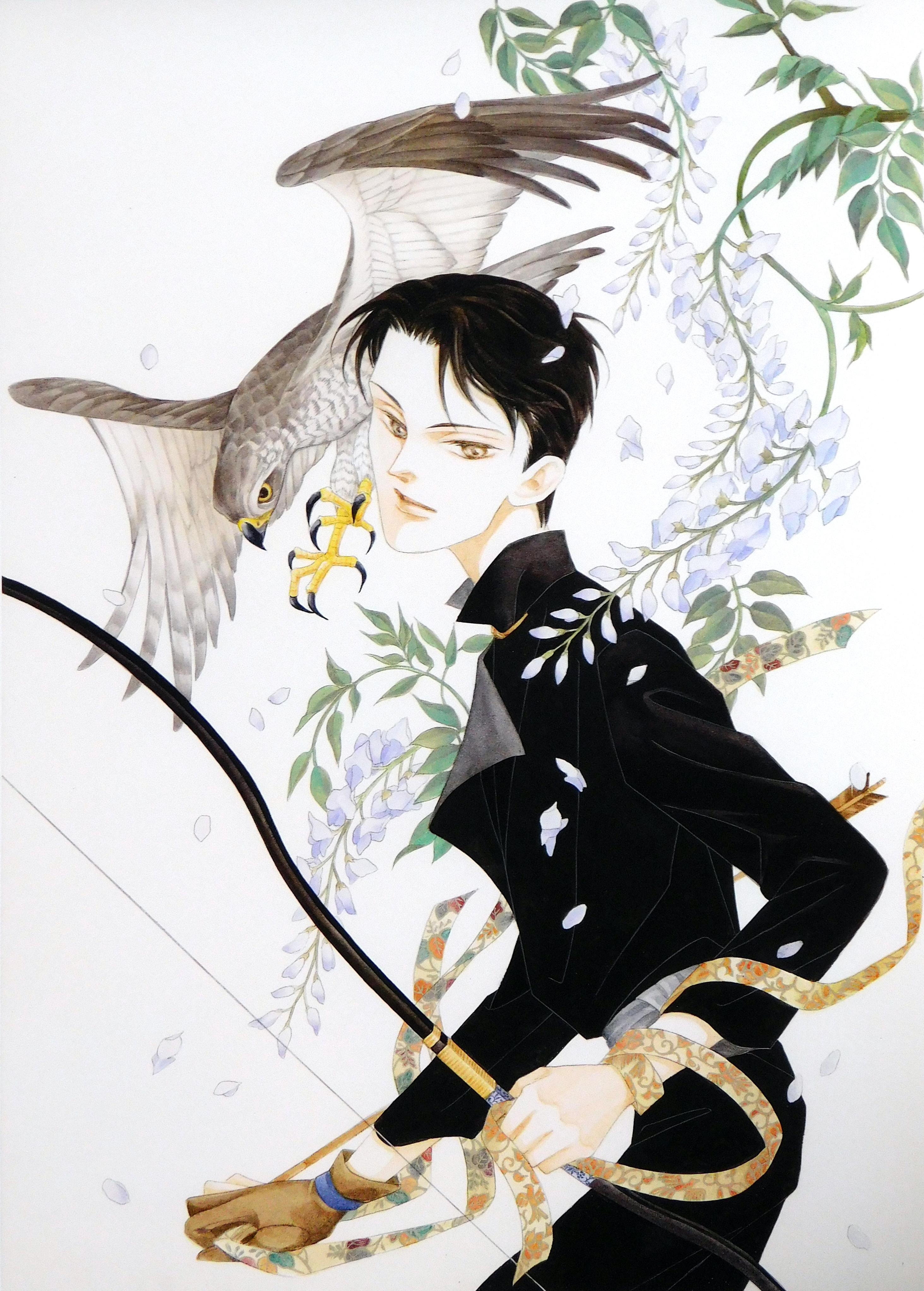 Cover for Nemuki magazine, Akiko Hatsu, 2001