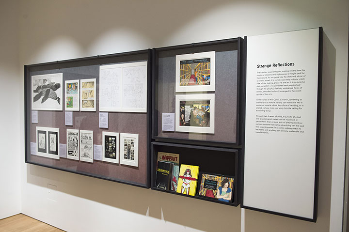 House of Illustration Comix exhibition. Photograph by Paul Grover