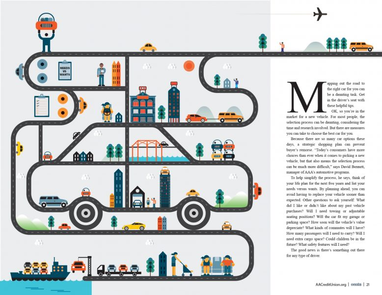 Car Feature / American Airlines Credit Union Magazine