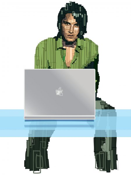 FHM Laptop Style Feature
