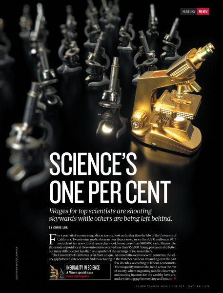 Nature Magazine - Science Salaries