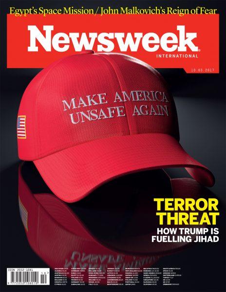 Make America Unsafe Again / Newsweek