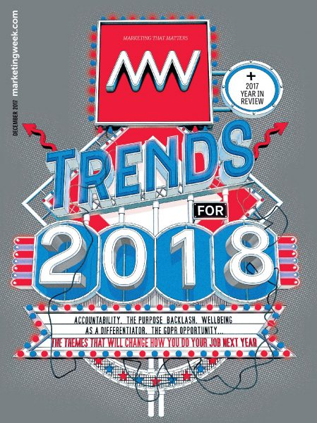 Marketing Week Cover / November 2018