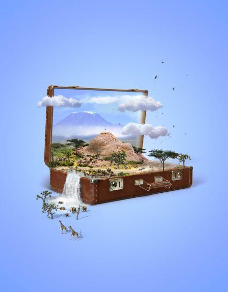 Suitcase / Cosmopolitan