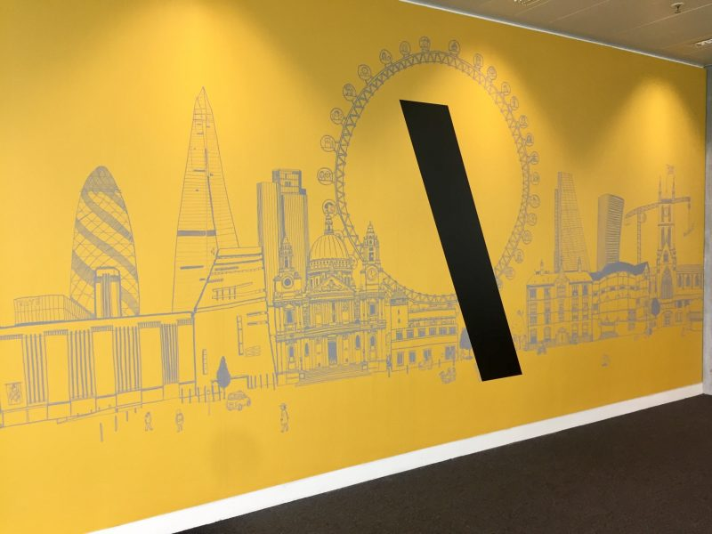 TBWA London Mural