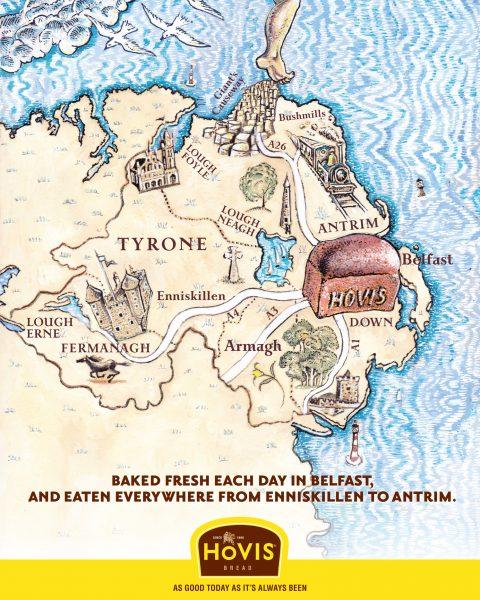 Hovis Map