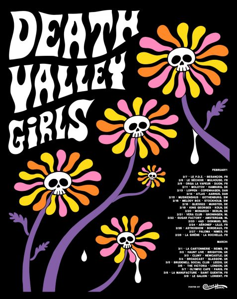 Death Valley Girls Rock Poster