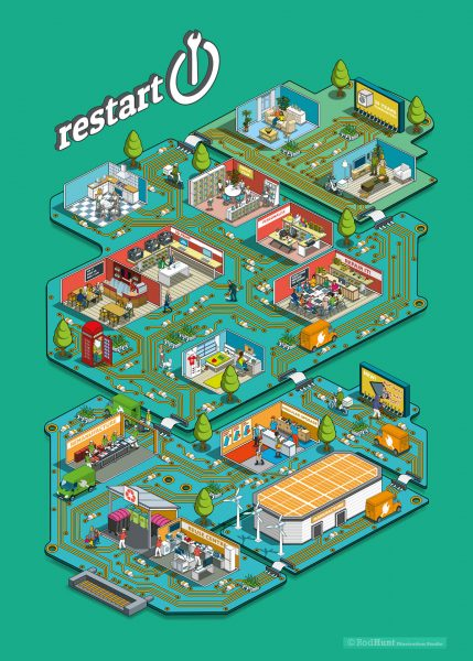 Lets Fix Our Relationship With Electronics: Infographic Illustration