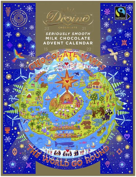 DIVINE MILK CHOCOLATE ADVENT CALENDAR 2020