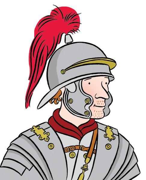 Stephanie-Strickland-Roman-soldier