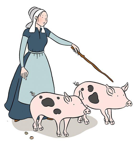 Stephanie-Strickland-Swine-herder
