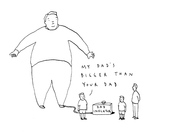 Dad inflator