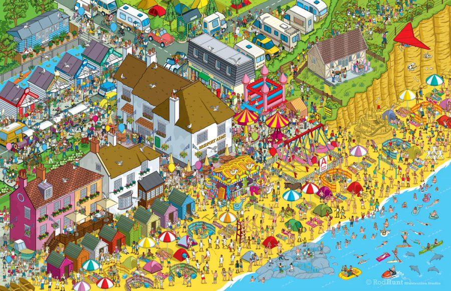 Seaside Resort - Daily Mail Great Summer £125,000 Treasure Hunt