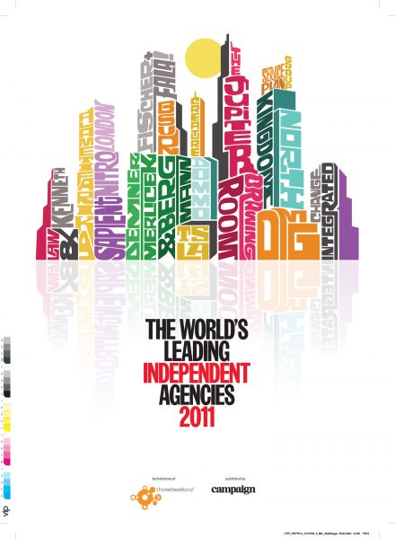 Independent Agencies 2011 Cover / Campaign Magazine
