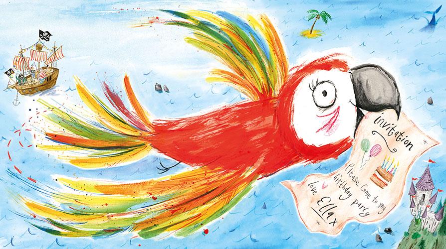 Laura Hughes BLOOMSBURY BirthdayInvitation_colour 12-13 FLAT