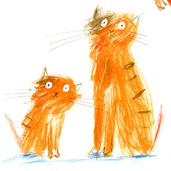 Laura Hughes orange cats1