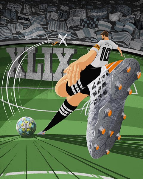 Messi 50