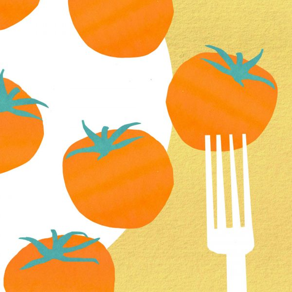 Tomatoes - for Felicity Lyons - Dietitian website (detail)