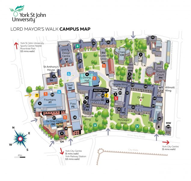 YSJ Campus Illustration