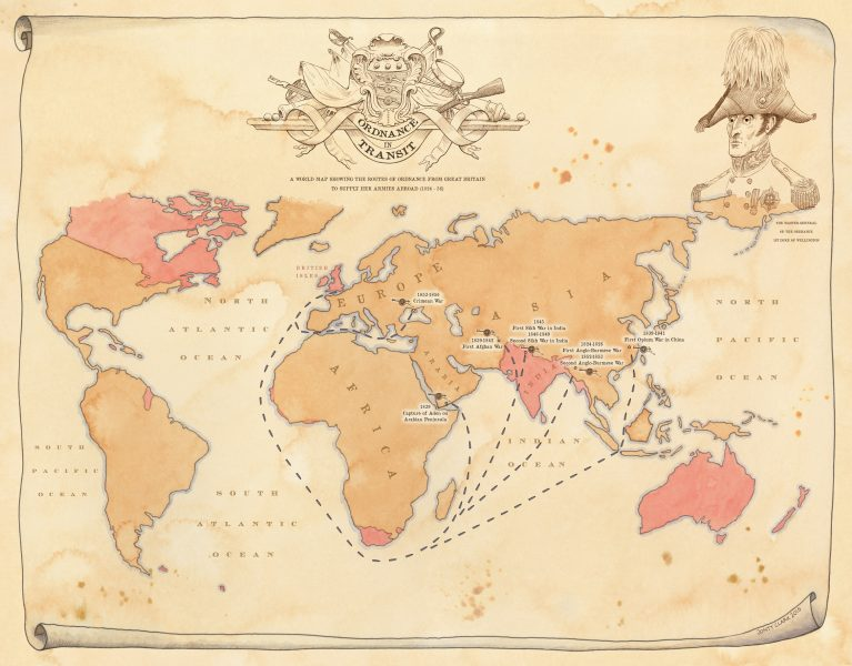 Royal Armouries World Map