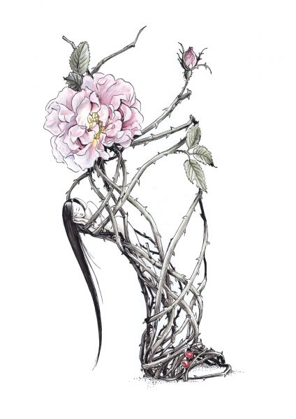 Snow White shoe