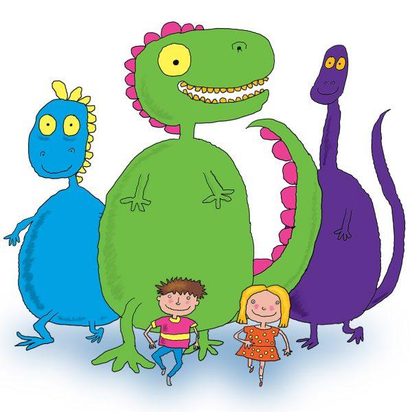 Dinosaur tag