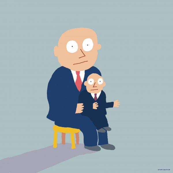 Business ventriloquist